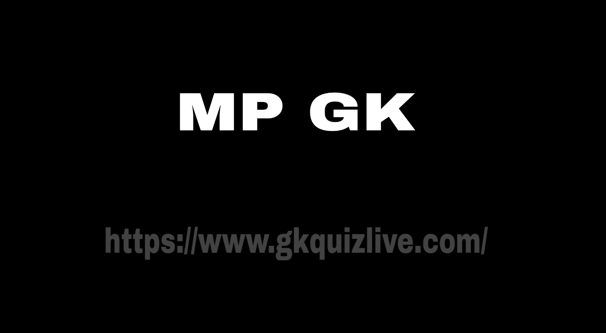 Important Current Mp Gk In Hindi 2021